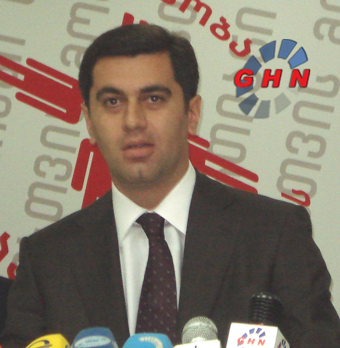 Irakli Okruashvili Upholds Burdjanadze's Call