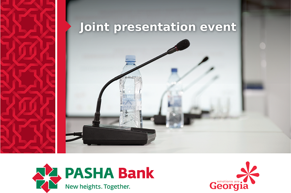 PASHA Bank and Georgian National Tourism Agency will host joint presentation event