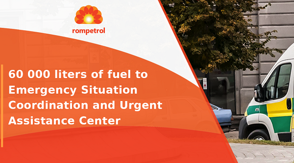 Rompetrol Georgia provides 60,000 liters of fuel to LEPL Emergency Situations Coordination and Urgent Assistance Center
