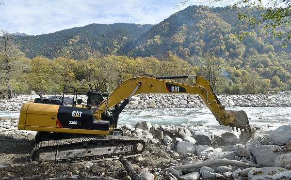 NAKRA VALLEY RESIDENTS WILL MEET THE FLOOD SEASON PREPARED