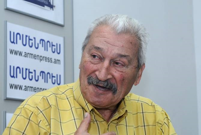 """I'm a journo as long as I'm breathing"" ARMENPRESS's very own L. Azroyan celebrates 82nd birthday"