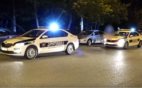 Police fine taxi driver and his accompanying person in Tbilisi for violating isolation and quarantine rules