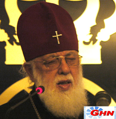 Georgian Patriarch votes in local self-government elections