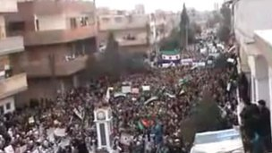 Syria rallies in support of army defectors