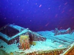 Odyssey finds WWII-era freighter carrying silver