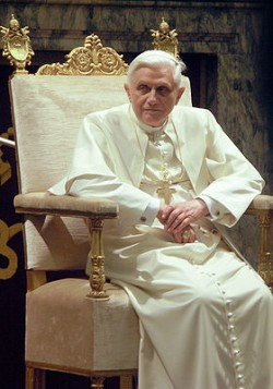 Pope Benedict XVI hails Georgian legislation on religious minitories