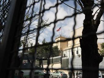 U.S. says has further reduced embassy staff in Syria