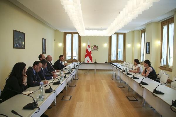 Maya Melikidze met with Turkish businessmen