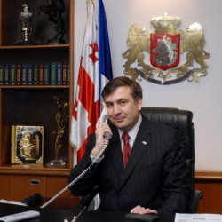 Mikhail Saakashvili to talk with J. Biden and N. Sarkozi over phone