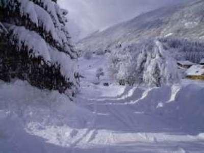 Heavy snowfall in Adjara region