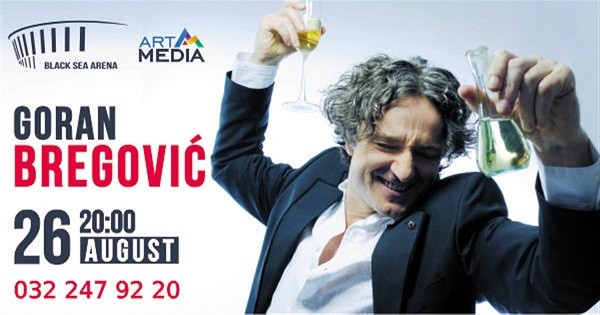 On August 26 Goran Bregovich to hold a concert at Black Sea Arena