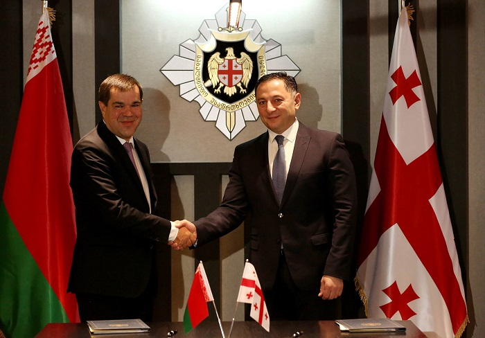 Georgian State Security and Belarusian State Security Committee agreed on cooperation