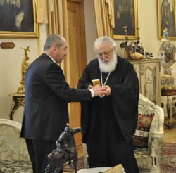 """Georgian Cathalicos Patriarch became a """"Person of a year"""""""