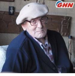 Writer Chabua Amirejibi turned 90