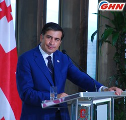 Saakashvili criticizes journalists who cannot see progress in our country