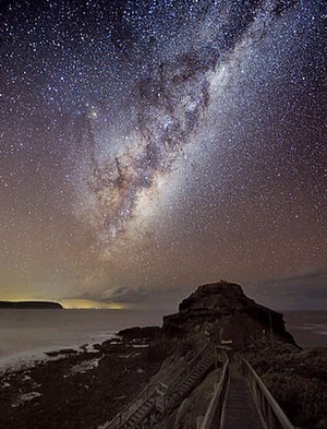 Astronomers weigh in on Milky Way`s true colours