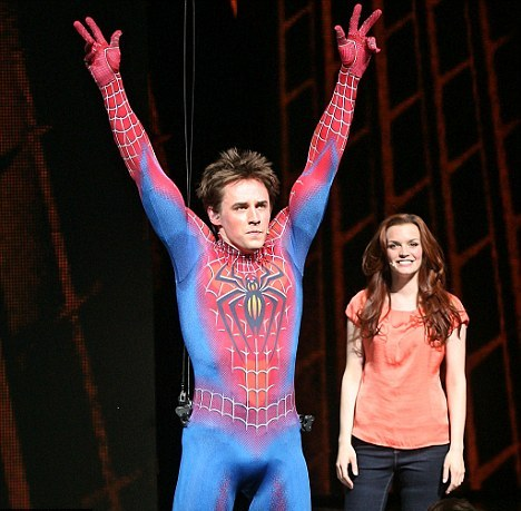Spider-Man musical makes Broadway history