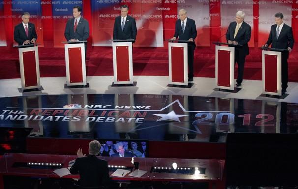Republican debate held in US