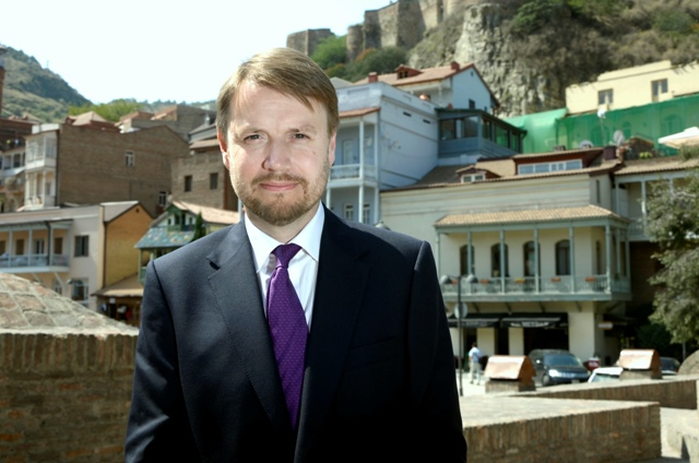UK s New Ambassador to Georgia Justin McKenzie Smith has arrived in Tbilisi