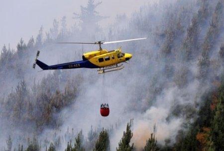Chile firefighters die in blaze