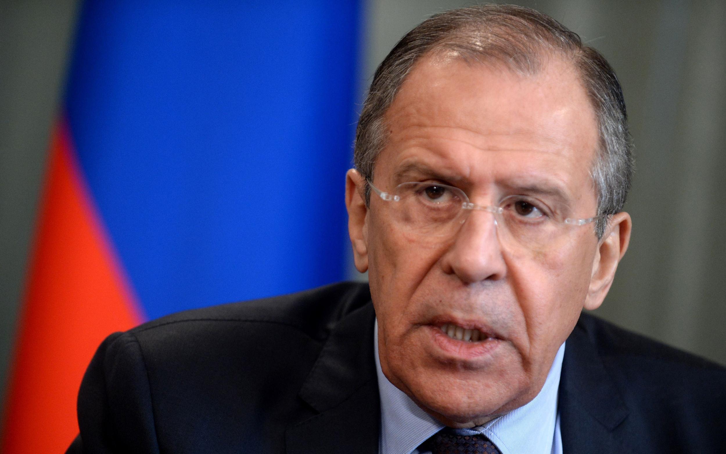 Lavrov criticized NATO