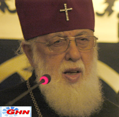 Patriarch urges nation to sign the Tract of Georgians` Unity