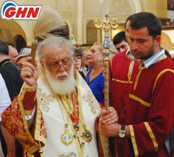Georgian patriarch pays tribute to memory of soldiers killed in war