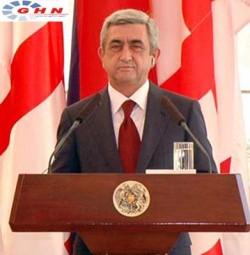 Sej Sargisian: in case of war renovation in Nagono-Karabakh Azerbaijan to loose war