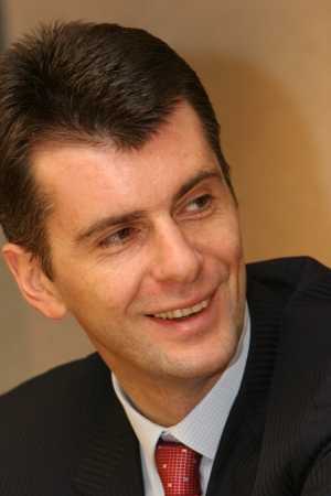 Mikhail Prokhorov -Russia`s era of managed democracy is over