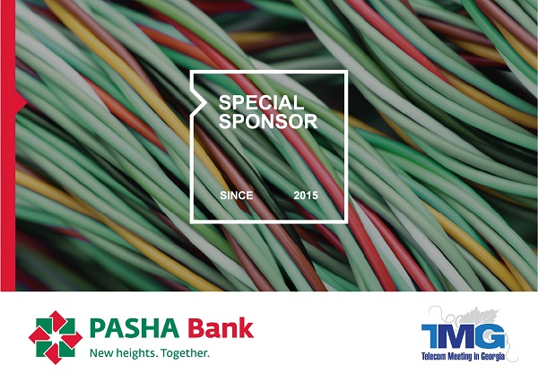 PASHA Bank Sponsors TMG 2019 - Telecom Meetings in Georgia