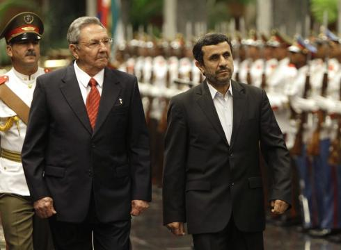 Ahmadinejad Denounces Capitalism While in Cuba