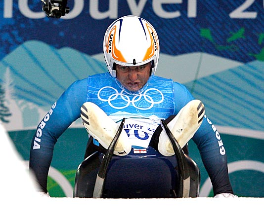 Georgian luger dies after crash in Olympics in Vancouver