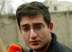 Tsotne Gamsakhurdia, son of first President detained.