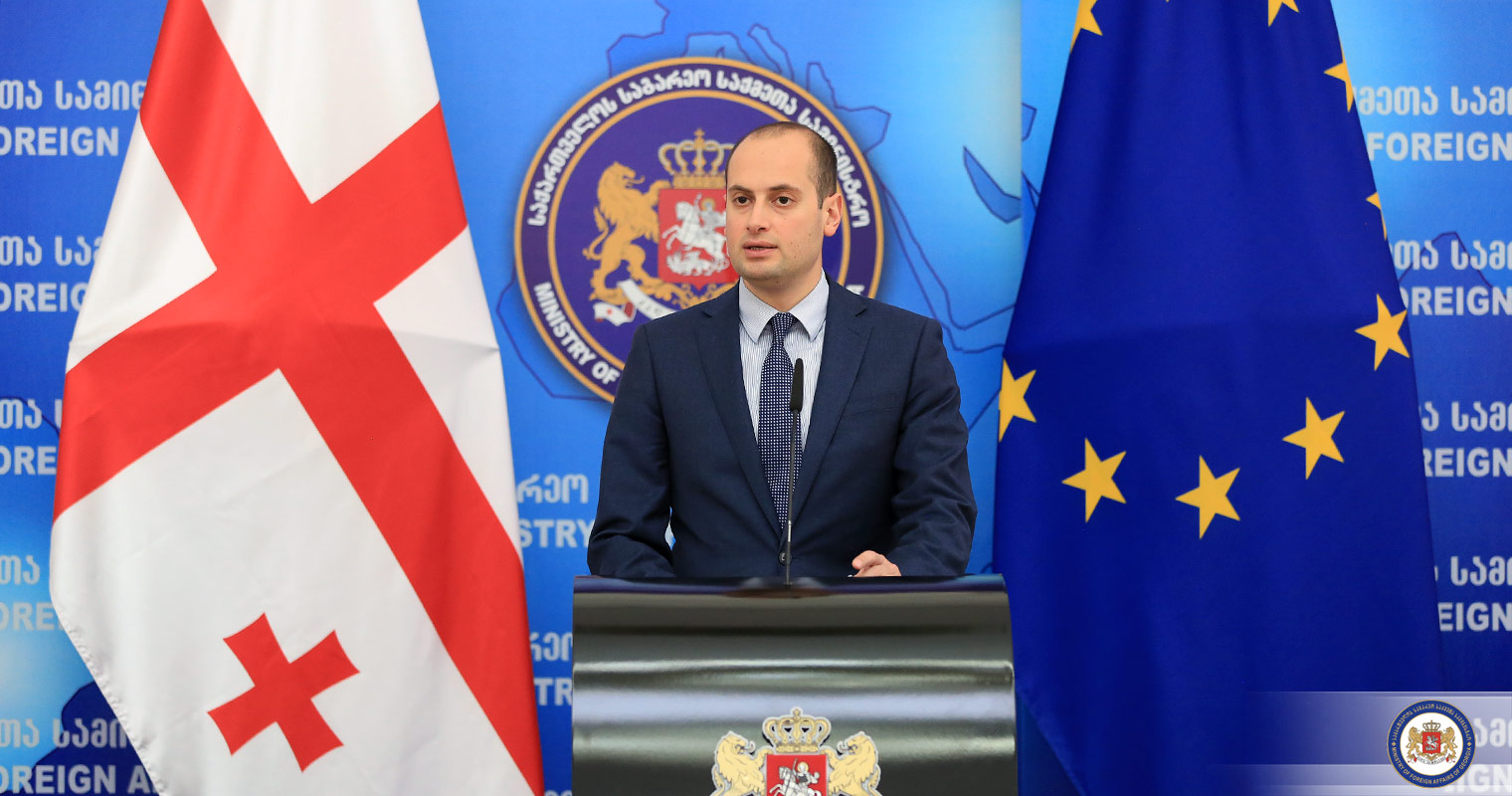 Foreign Minister  -  Georgia an important part of Europe is