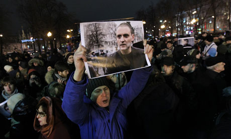 Moscow protest for jailed activist passes off peacefully