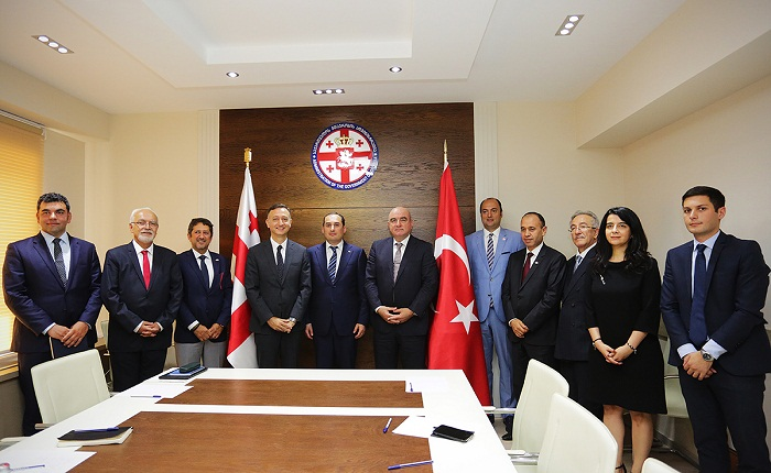 Economic Minister met with Turkish delegation