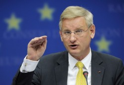 EU Chairman country calls for fulfillment of Sarkozy-Medvediev agreement