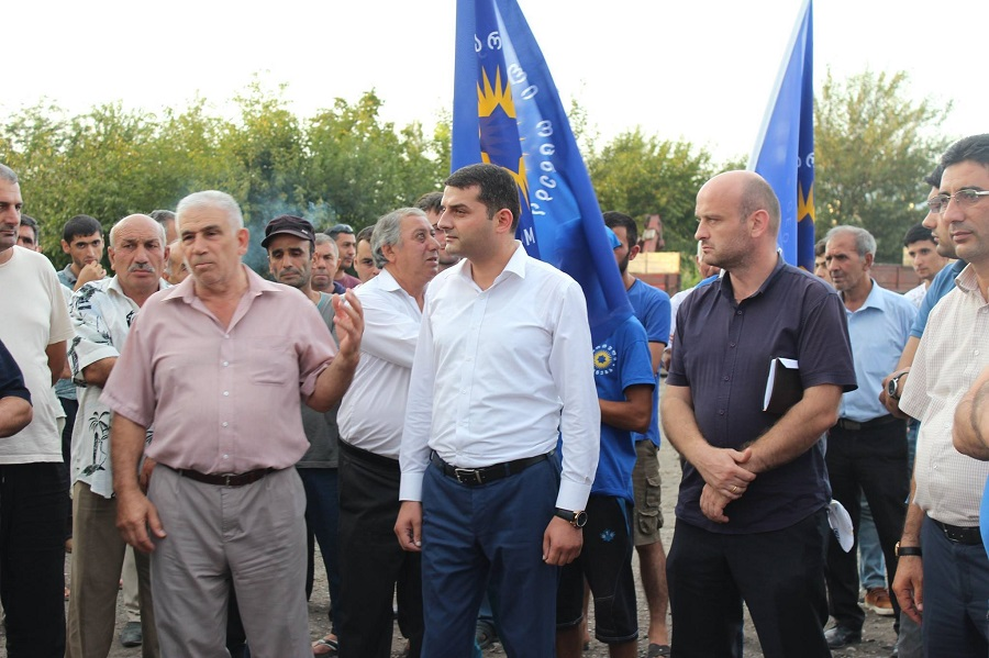 Salvasan Mirzoev continues meetings with population