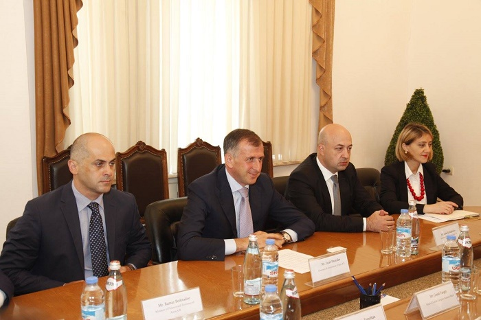 Chair of Ajara regional government met with Turkish delegation