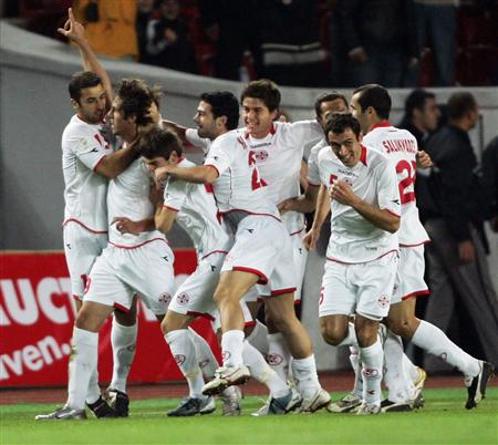 Georgia-Slovenia 2:1