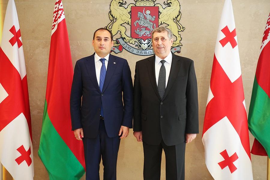 Dmitri Kumsishvili met with Belarusian counterpart