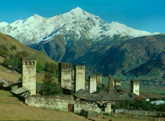 Disaster hits remote Region of Svaneti