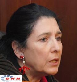 Salome Zurabissvili: Government could avoid November 7 disaster