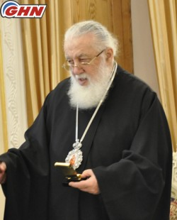 34 years passed since enthronization of Georgian Patriarch