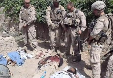 US defense secretary condemns behavior of several American Marines