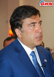 Saakashvili comments on the release of sailors