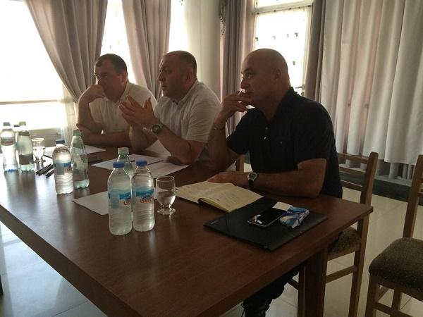 Grigol Liluashvili met with local small and medium manufacturers