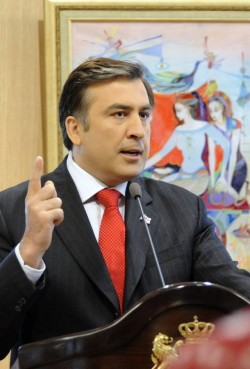 Desirable leader in Georgia is Mikhail Saakashvili
