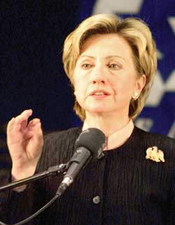 U.S. sees no reason for missile shield in Georgia - Clinton
