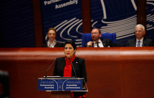 Address of the President of Georgia at PACE